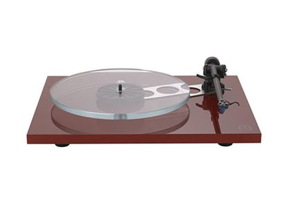rega-Planar3-Red with Elys2