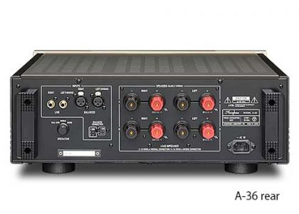 Accuphase A-36 rear