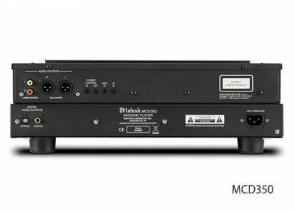 McIntosh MCD350 rear