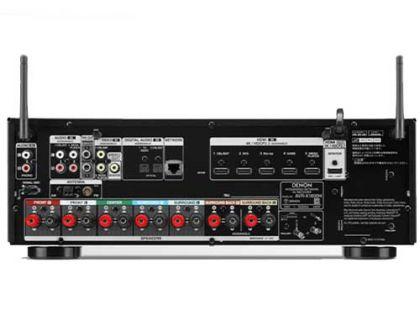 DENON AVR-X1600H背面